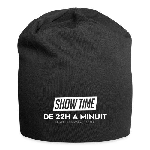 Logo ShowTime Blanc - Bonnet en jersey