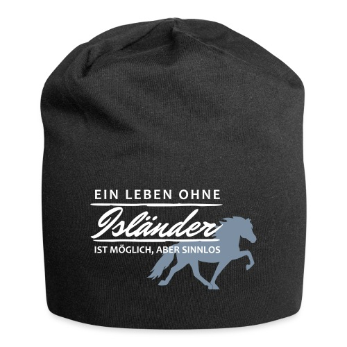 T-Shirt Spruch Leben Islä - Jersey-Beanie