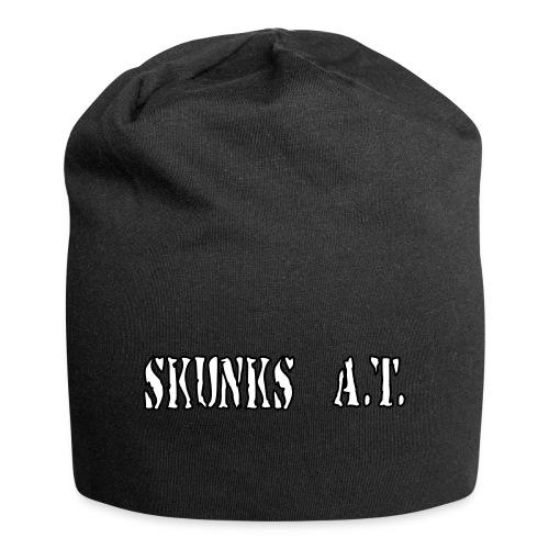 skunkschrift small - Jersey-Beanie