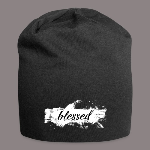 blessed spot ladies weiss - Jersey-Beanie