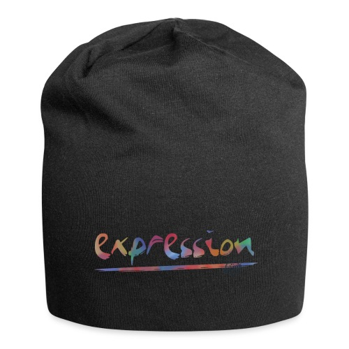 Expression typography - Jersey Beanie