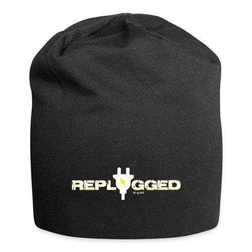 Replugged - Clip Art White - Jersey Beanie