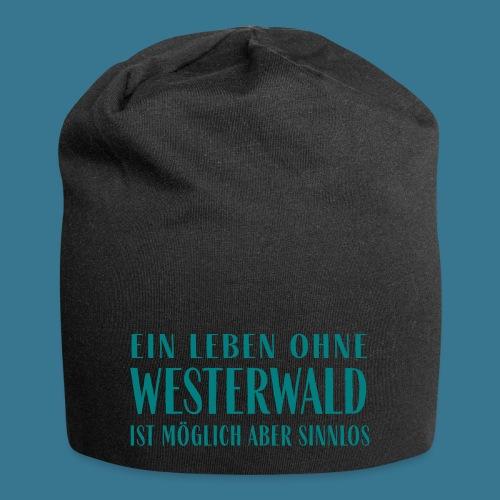 Westerwaldleben. - Jersey-Beanie