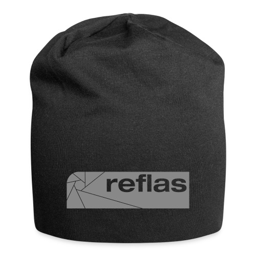 Reflas Clothing Black/Gray - Beanie in jersey