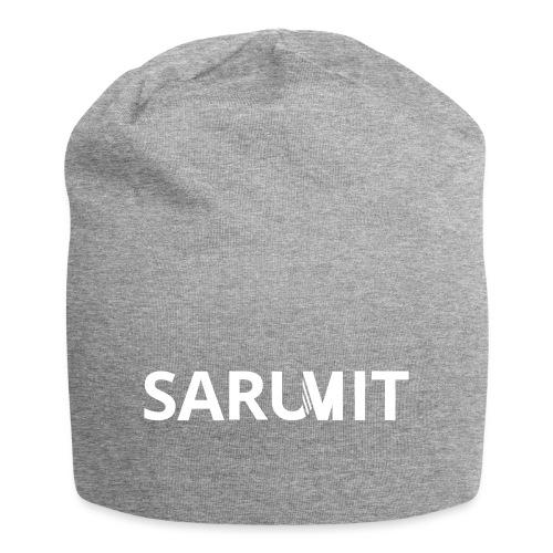 SARUMIT logomarca 1Colour - Gorro holgado de tela de jersey