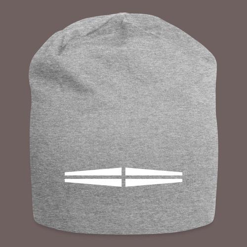 GBIGBO zjebeezjeboo - Rock - Traversant Blanc - Bonnet en jersey