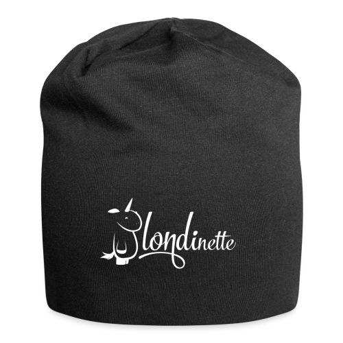 Blondinette - Bonnet en jersey