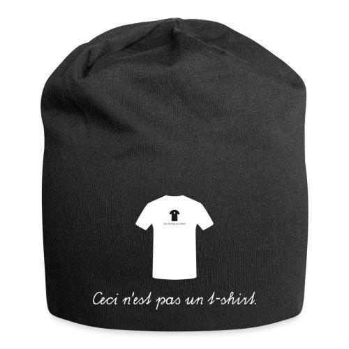 Ceci n'est pas un t-shirt. - Jersey-Beanie