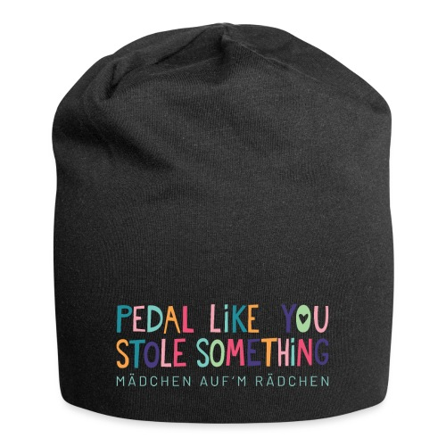 PEDAL LIKE YOU STOLE SOMETHING // MAR - Jersey-Beanie