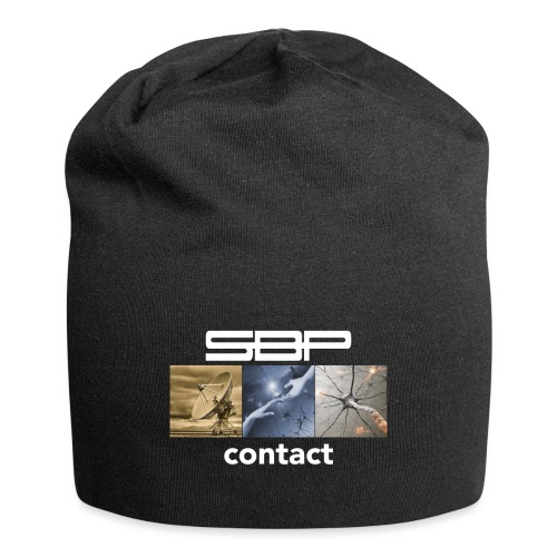 T-shirt Contact 123 black - Jersey Beanie