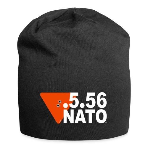 .5.56 NATO BLANC - Bonnet en jersey
