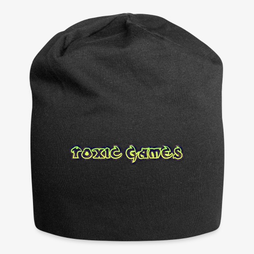 toxic games logo - Jersey Beanie
