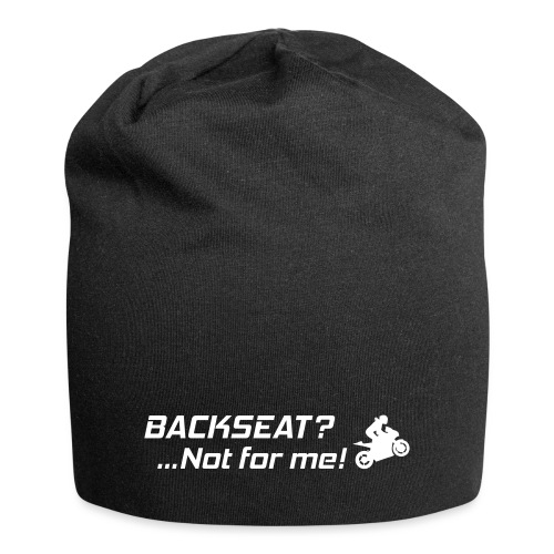 Backseat? Not for me! - Jersey-pipo