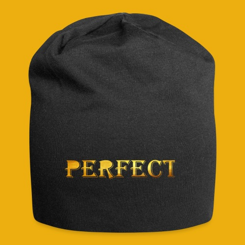perfect metalic gold merch - Jersey Beanie