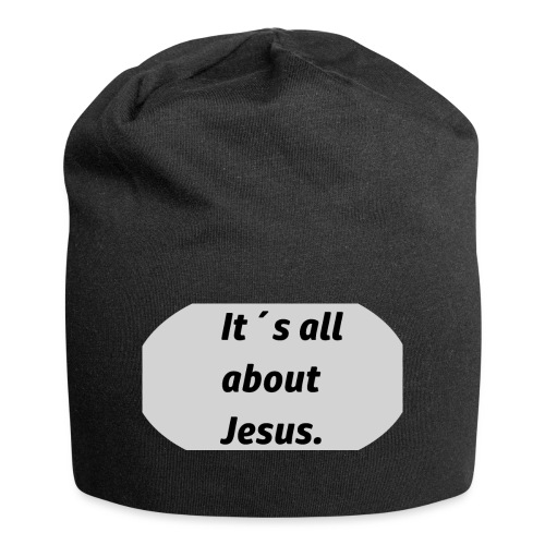 Its all about Jesus - Jersey-Beanie