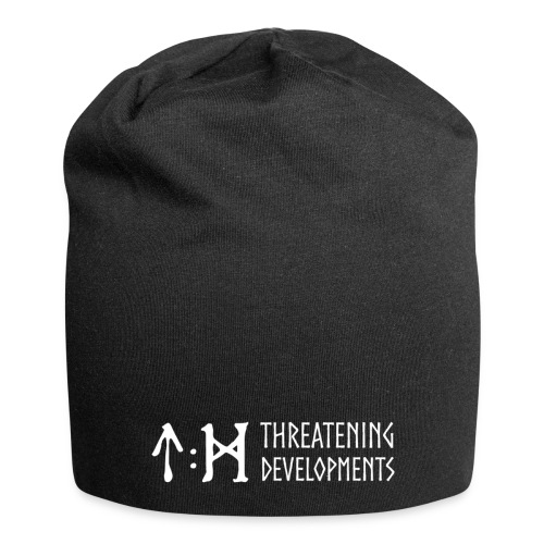 Threatening Developments White Logo - Jersey Beanie