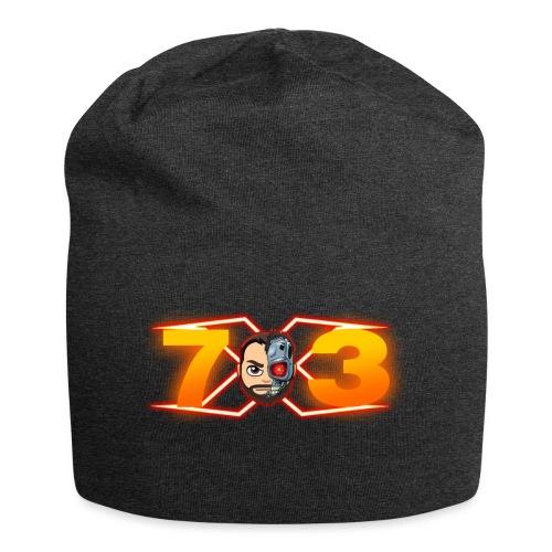 FranX73 logo NEW - Gorro holgado de tela de jersey