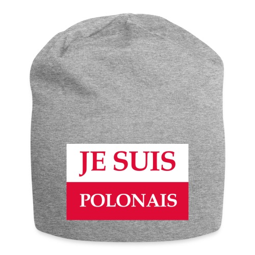 Je suis Polonais - Czapka krasnal z dżerseju