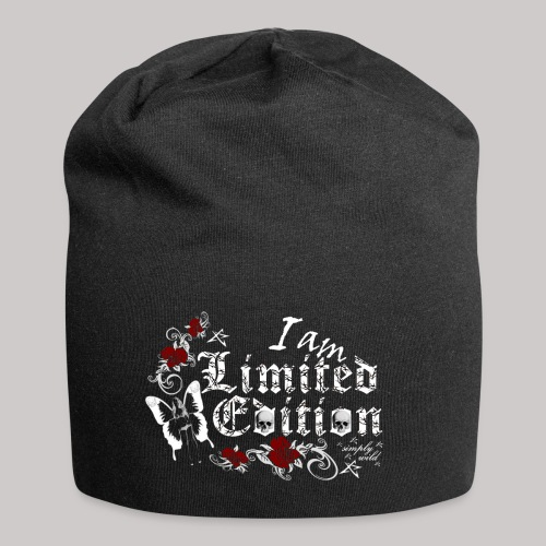 simply wild limited edition on black - Jersey-Beanie
