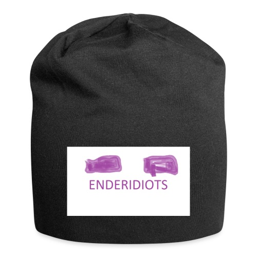 enderproductions enderidiots design - Jersey Beanie