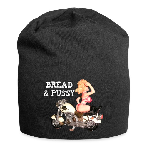 LOGO BREAD AND PUSSY - Beanie in jersey