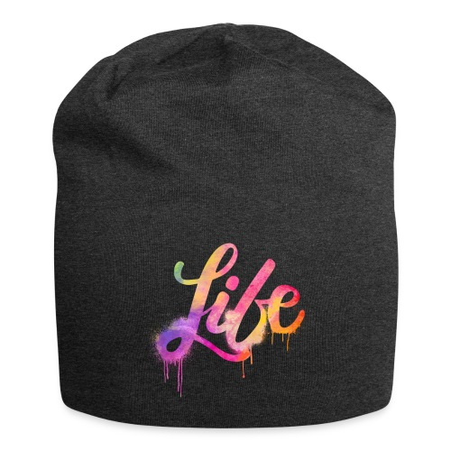 life - Beanie in jersey
