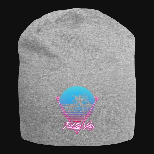 Feel the Vibes - Beanie in jersey