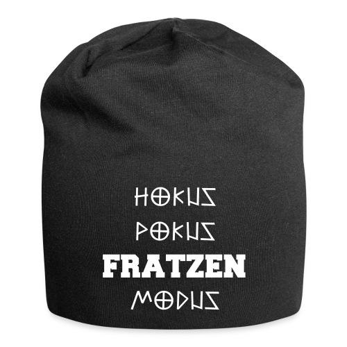 Hokus Pokus Fratzen Modus Afterhour Rave Spruch - Jersey-Beanie