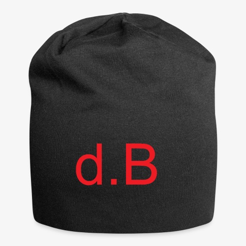 d.B RED - Beanie in jersey