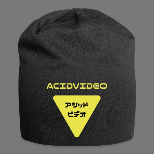 Acidvideo logo - Jersey Beanie