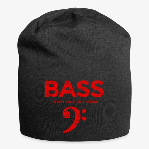 BASS I wont cause any treble (Vintage/Rot) Bassist - Jersey-Beanie