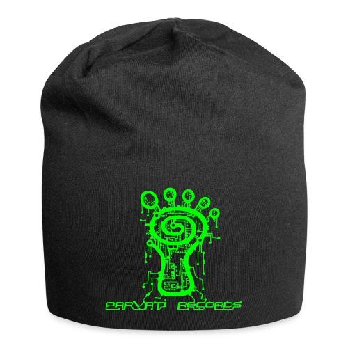 Parvati Records Matrix logo - Jersey Beanie