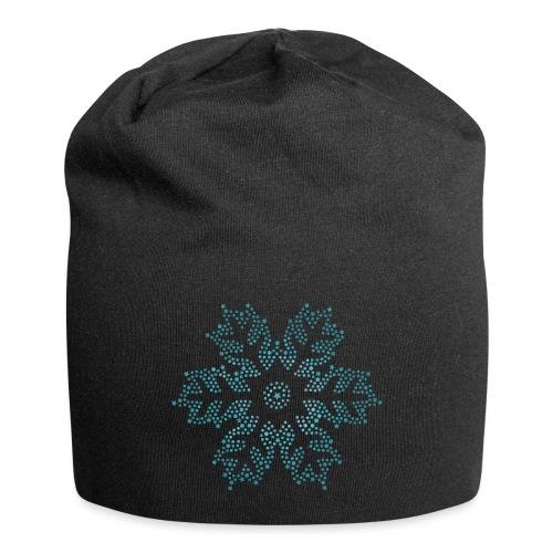 Schnee Stern, Weihnachten - Jersey-Beanie