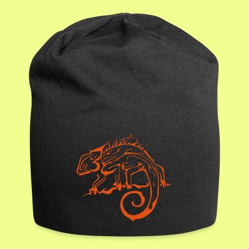 iguana - Gorro holgado de tela de jersey