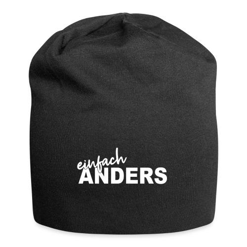 einfach ANDERS - Jersey-Beanie