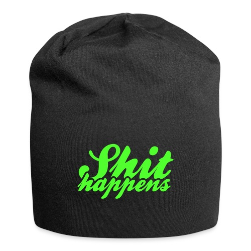 Shit Happens and Politics - Jersey Beanie
