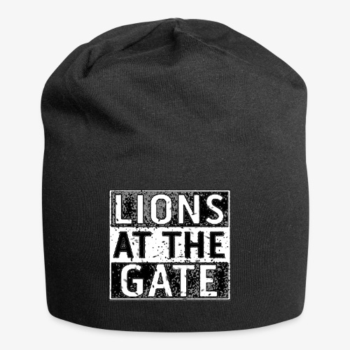 LIONS AT THE GATE BAND LOGO - Jersey-Beanie