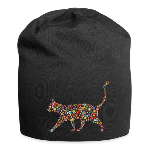 Vorschau: flower cat - Jersey-Beanie