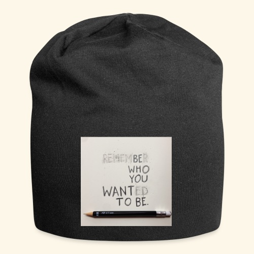 Be who you want to be - Jersey-Beanie