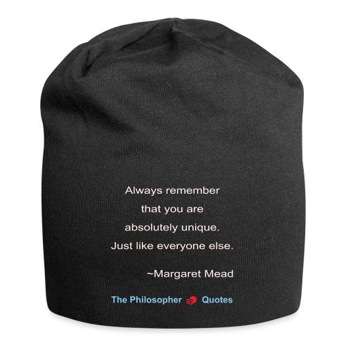 Margaret Mead Unique-w - Jersey-Beanie