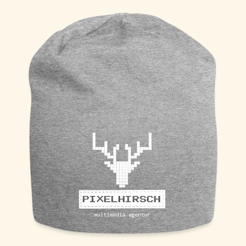 PIXELHIRSCH - high contrast - Jersey-Beanie