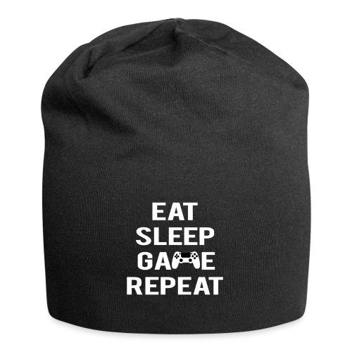 Eat, sleep, game, REPEAT - Jersey Beanie
