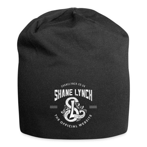 White - Shane Lynch Logo - Jersey Beanie