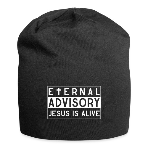 Eternal Advisory: Jesus is Alive - Christlich - Jersey-Beanie