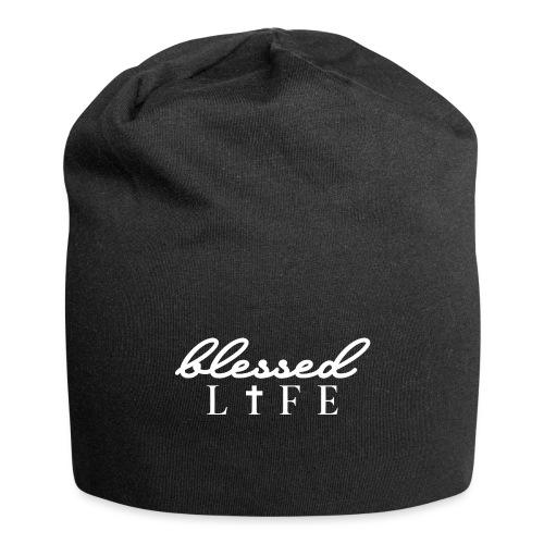 Blessed Life - Jesus Christlich - Jersey-Beanie