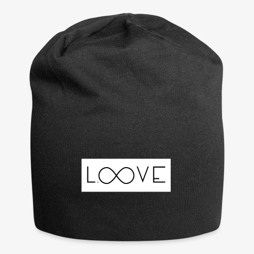LOOVE Box Logo (SS18) - Beanie in jersey