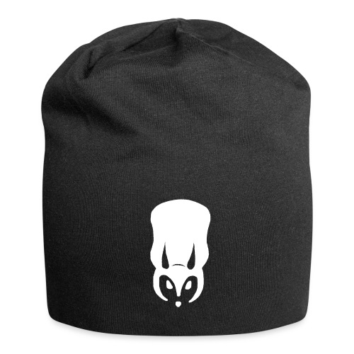 SeriousSquirrel big white - Jersey Beanie