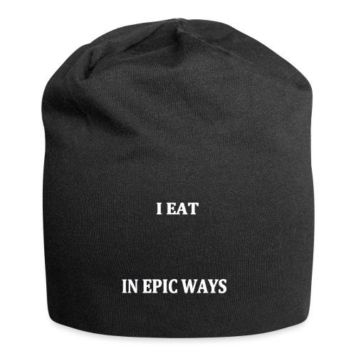 I EAT IN EPIC WAYS (white) - Jerseymössa