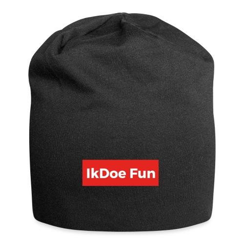 IkDoe Fun Box Logo - Jersey-Beanie