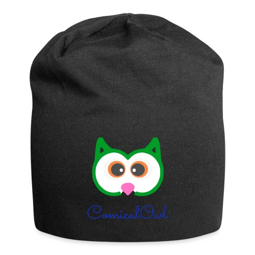 Cartoon Owl - Jersey Beanie